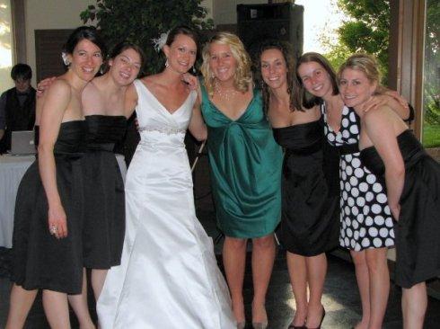 sexy 7 at lynn's wedding