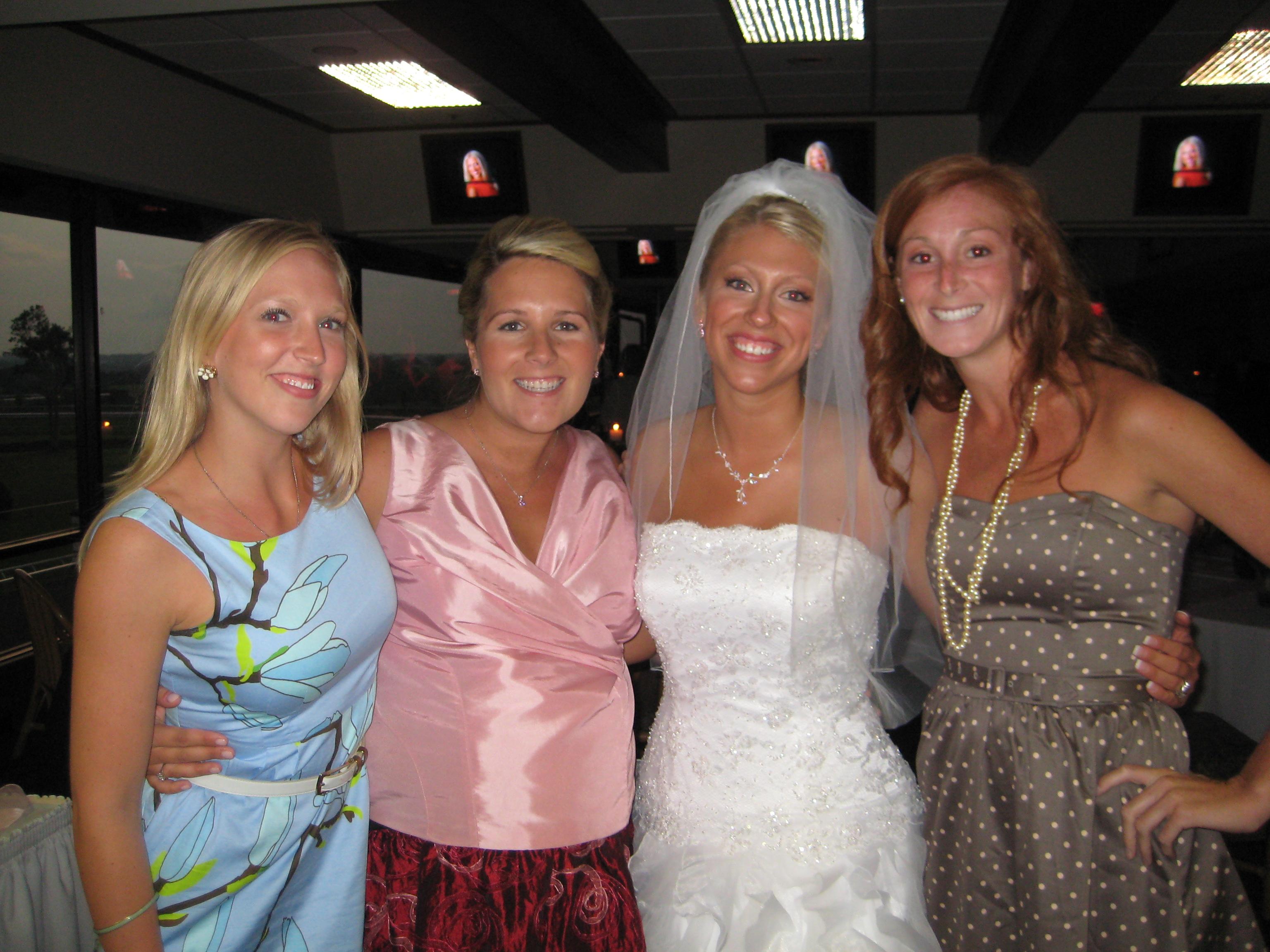 Bride Upskirt Nip Slip